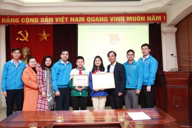 Học sinh Bắc Ninh đạt giải Nhất cuộc thi 'Tự hào Việt Nam' ảnh 1