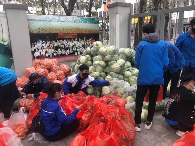 Tuổi trẻ Thủ đô hỗ trợ tiêu thụ 122 tấn nông sản cho bà con Hải Dương ảnh 4
