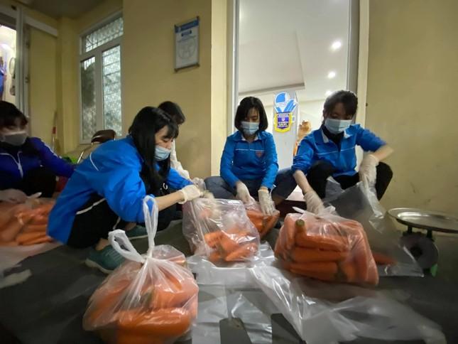 Tuổi trẻ Thủ đô hỗ trợ tiêu thụ 122 tấn nông sản cho bà con Hải Dương ảnh 2