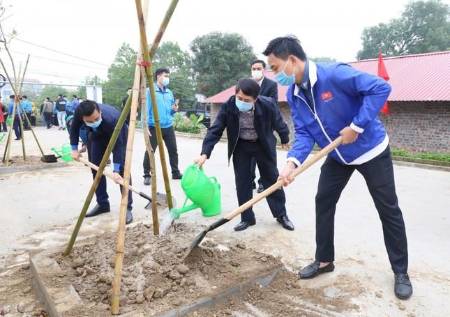 Tuổi trẻ Thủ đô trồng 15.000 cây xanh trong Tháng Thanh niên ảnh 2