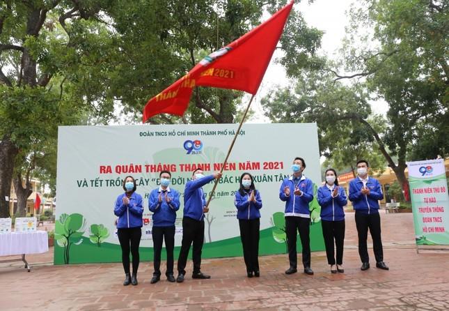 Tuổi trẻ Thủ đô trồng 15.000 cây xanh trong Tháng Thanh niên ảnh 1