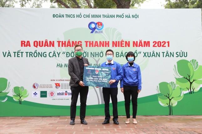 Tuổi trẻ Thủ đô trồng 15.000 cây xanh trong Tháng Thanh niên ảnh 5