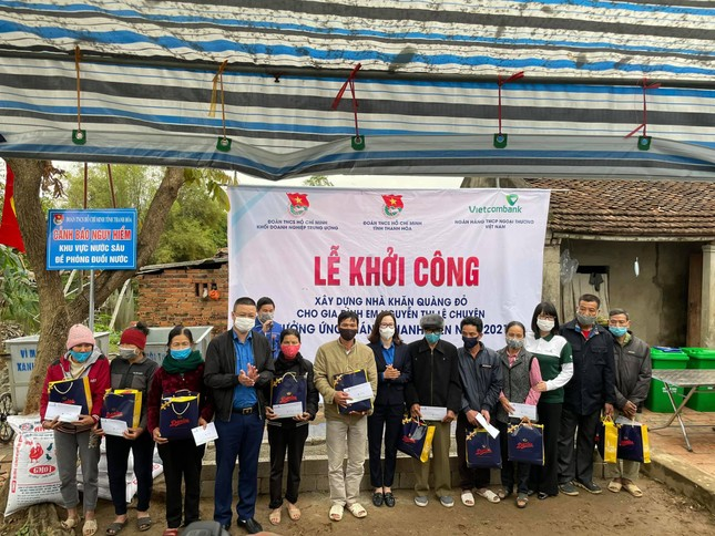 Xây nhà Khăn quàng đỏ cho 2 học sinh nghèo tại Thanh Hoá ảnh 2