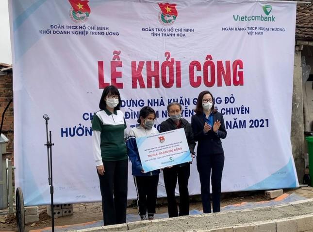 Xây nhà Khăn quàng đỏ cho 2 học sinh nghèo tại Thanh Hoá ảnh 1