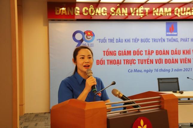 Tổng giám đốc PVN truyền lửa cho giới trẻ về 4 giá trị cốt lõi của người Dầu khí ảnh 2