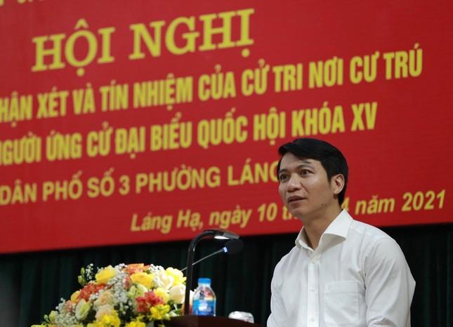 Cử tri tín nhiệm 100% giới thiệu Bí thư T.Ư Đoàn Nguyễn Ngọc Lương ứng cử ĐBQH ảnh 1