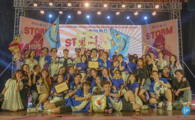Tìm ra đội vô địch, tự phá vỡ kỷ lục chính mình trong cuộc thi 'Storm from HUS' ảnh 5