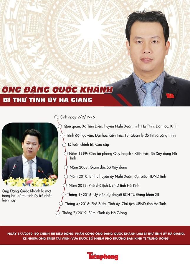 Phê chuẩn Bí thư Hà Giang Đặng Quốc Khánh làm Trưởng đoàn ĐBQH ảnh 2