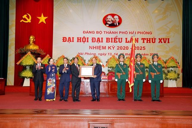 Thủ tướng Nguyễn Xuân Phúc: Phát triển Hải Phòng đạt các tiêu chí đô thị đặc biệt ảnh 1