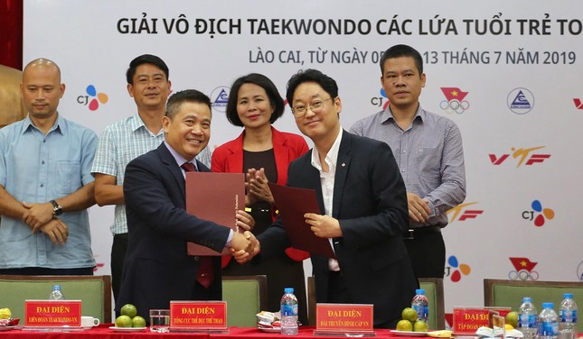 Taekwondo Việt Nam noi gương tinh thần Park Hang Seo ảnh 1