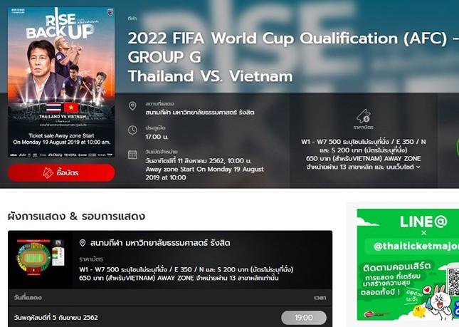 CĐV than trời vì vé xem trận Thái Lan-Việt Nam bán hết trong... 5 phút ảnh 1
