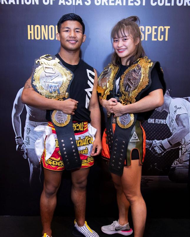 Những chuyện tình đẹp như mơ của võ sĩ ONE Championship ảnh 4