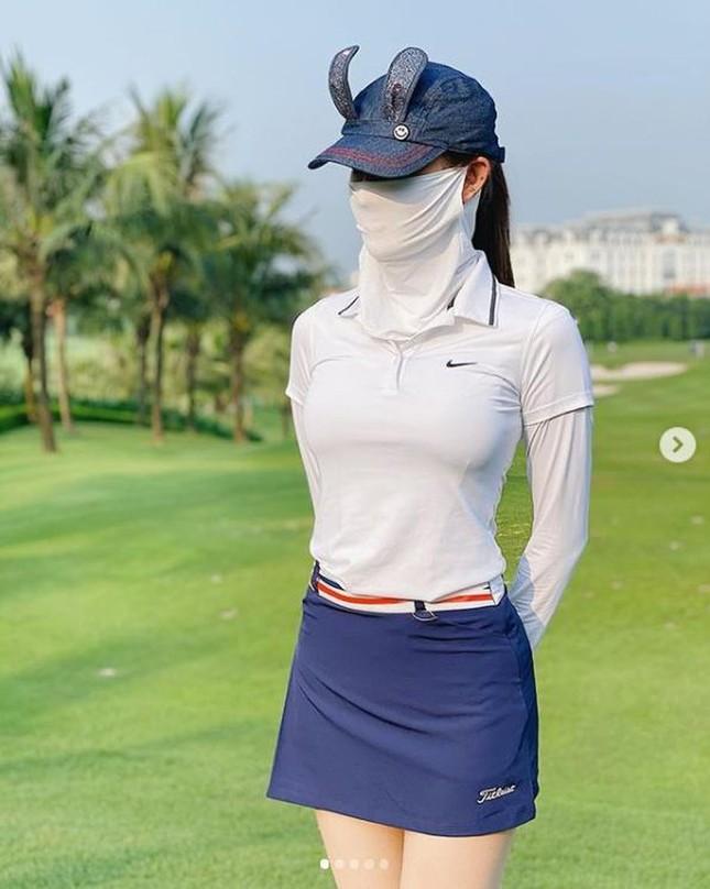 Á hậu Huyền My: 'Golf giúp tôi rèn tính kiên trì, vóc dáng thon gọn' ảnh 8