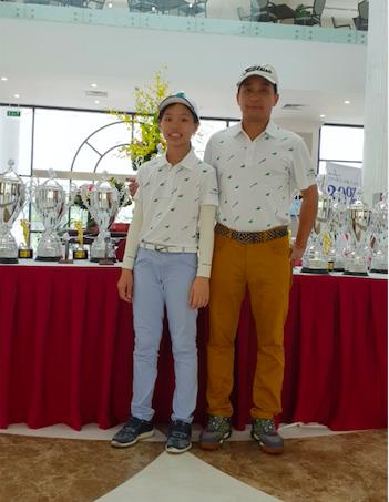 Golfer nhỏ tuổi nhất Tiền Phong Golf Championship 2020 mơ giành HIO ảnh 1