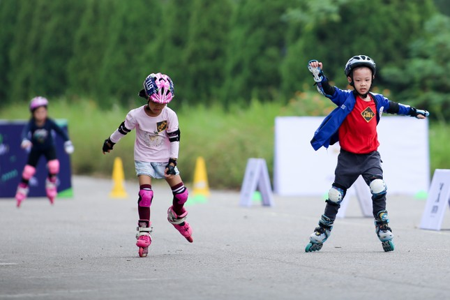 Bé 5 tuổi trượt patin ở Mỹ Đình để chọn tuyển thủ quốc gia ảnh 18