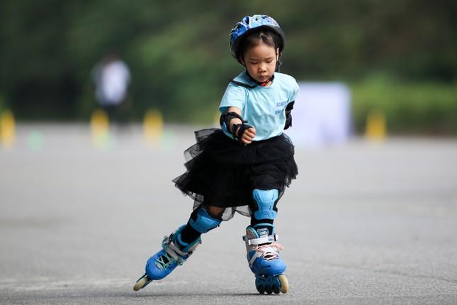 Bé 5 tuổi trượt patin ở Mỹ Đình để chọn tuyển thủ quốc gia ảnh 19