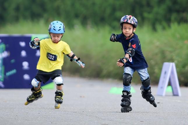 Bé 5 tuổi trượt patin ở Mỹ Đình để chọn tuyển thủ quốc gia ảnh 10