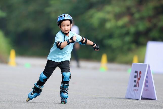Bé 5 tuổi trượt patin ở Mỹ Đình để chọn tuyển thủ quốc gia ảnh 12