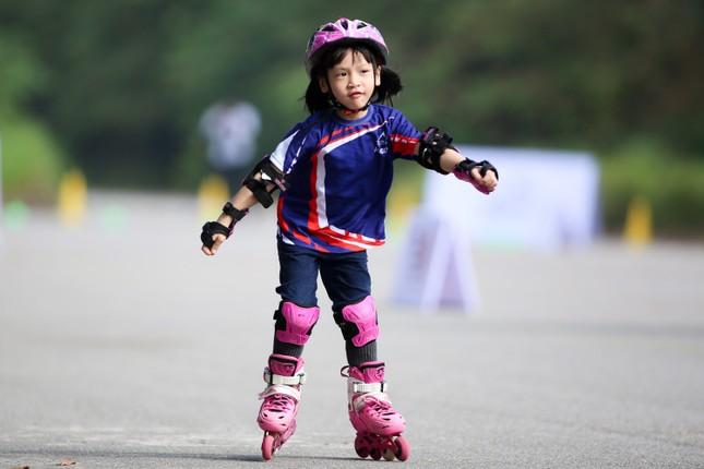 Bé 5 tuổi trượt patin ở Mỹ Đình để chọn tuyển thủ quốc gia ảnh 13
