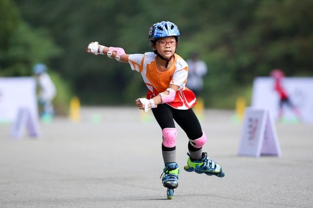 Bé 5 tuổi trượt patin ở Mỹ Đình để chọn tuyển thủ quốc gia ảnh 15