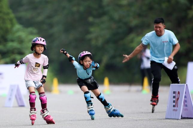 Bé 5 tuổi trượt patin ở Mỹ Đình để chọn tuyển thủ quốc gia ảnh 17