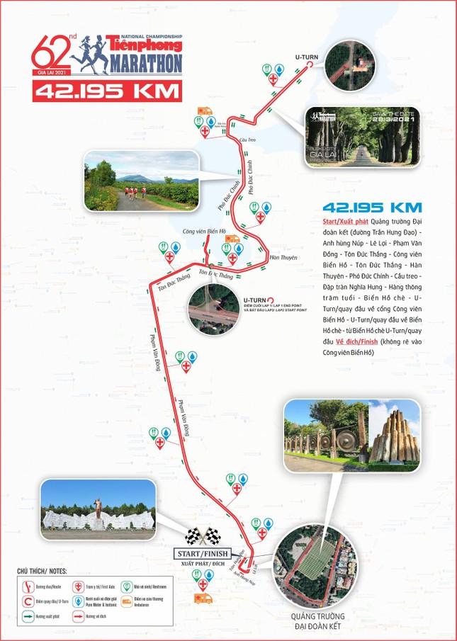 Công bố cung đường chạy Tiền Phong Marathon 2021 ảnh 1