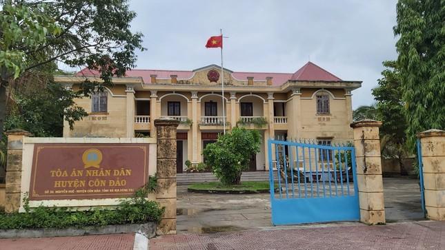 Vì sao Chánh án TAND huyện Côn Đảo bị kỷ luật? ảnh 1