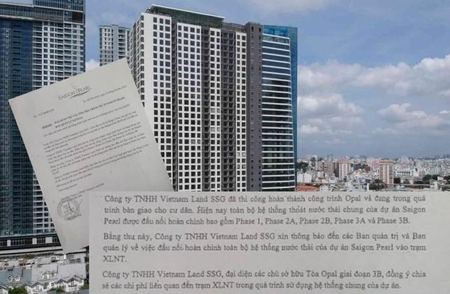 Sai phạm xả thải ở khu 'siêu giàu' tại TPHCM ảnh 1