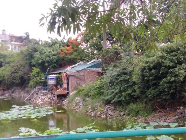 Chủ tịch Hà Nội yêu cầu xử lý công trình sai phạm trên hồ Đầm Trị ảnh 6