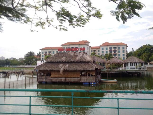 Chủ tịch Hà Nội yêu cầu xử lý công trình sai phạm trên hồ Đầm Trị ảnh 5