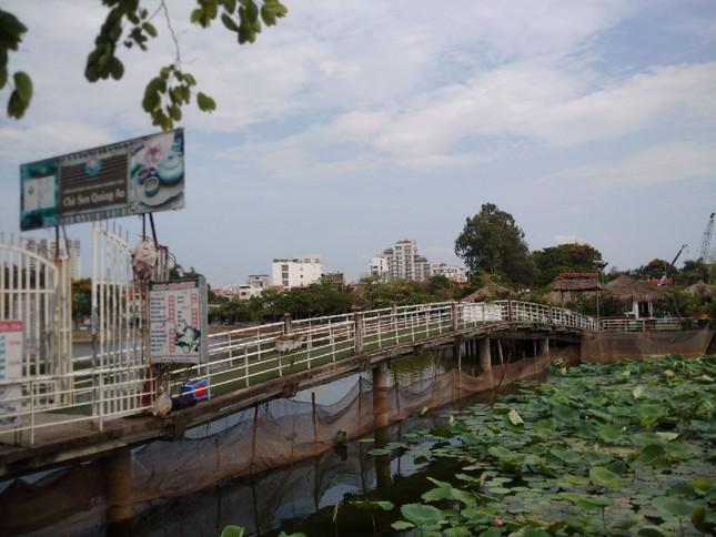Chủ tịch Hà Nội yêu cầu xử lý công trình sai phạm trên hồ Đầm Trị ảnh 4