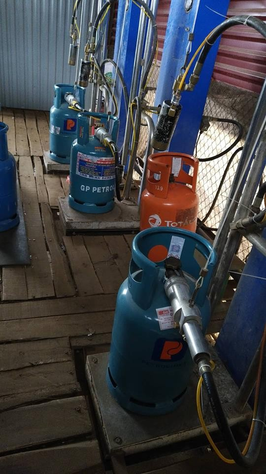 """Triệt phá trạm chiết gas lậu """"khủng"""" nằm giữa thành phố Hải Dương ảnh 2"""