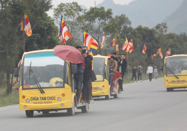 Du khách nườm nượp về chùa Tam Chúc du xuân Canh tý 2020 ảnh 5