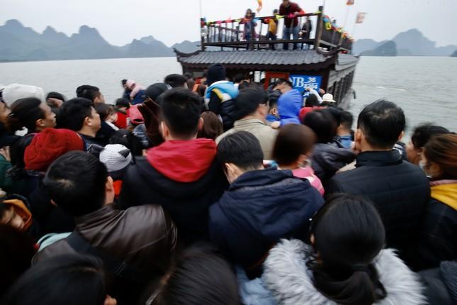 Du khách nườm nượp về chùa Tam Chúc du xuân Canh tý 2020 ảnh 1