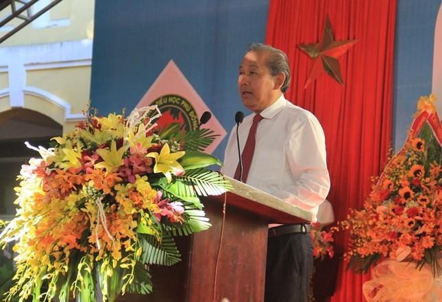 Phó Thủ tướng đánh trống khai giảng ở ngôi trường 128 tuổi ảnh 4
