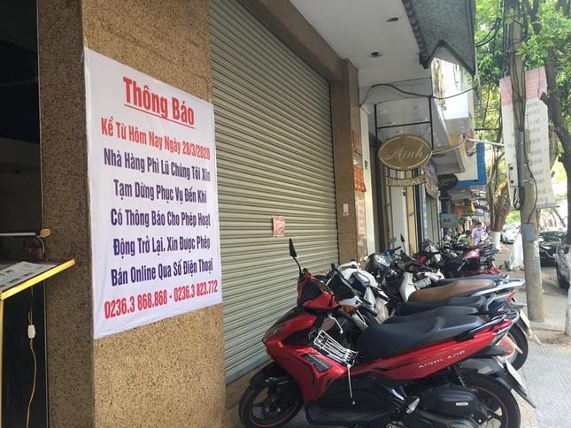 Hàng quán Đà Nẵng đồng loạt chuyển sang 'phục vụ mang về' ảnh 2