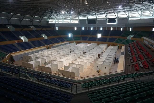 Tháo dỡ Bệnh viện dã chiến Tiên Sơn để chuyển ra Hải Dương ảnh 2