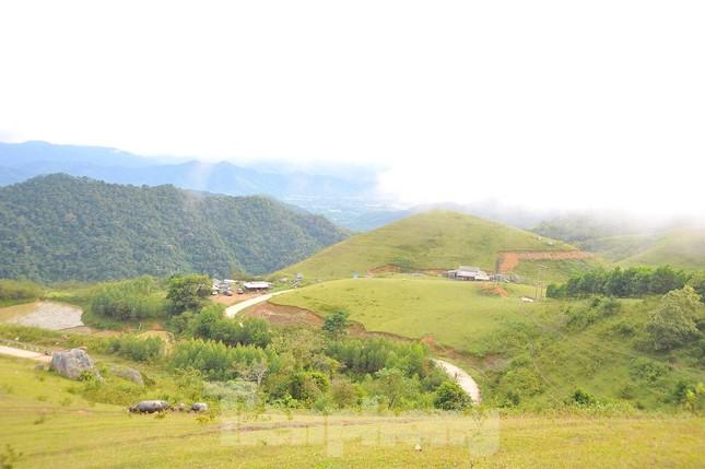 Mê mẩn vẻ đẹp thảo nguyên xanh mướt với những khối đá kỳ lạ ở Bắc Giang ảnh 5