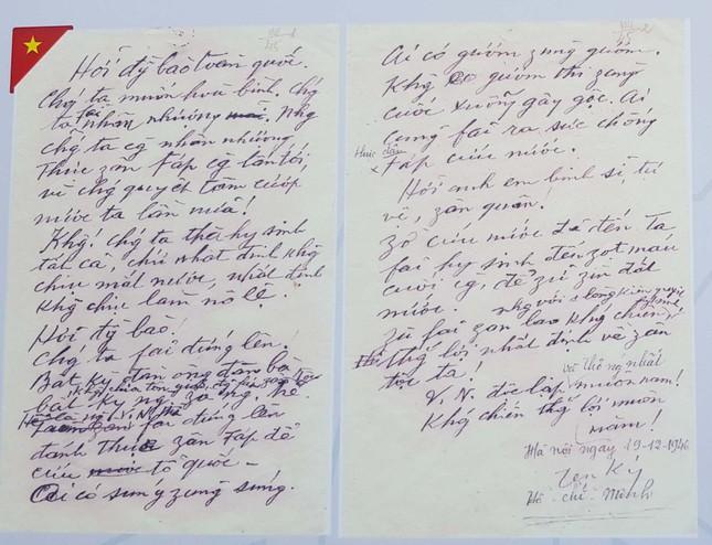 Triển lãm kỷ niệm 50 năm thực hiện Di chúc của Chủ tịch Hồ Chí Minh ảnh 5