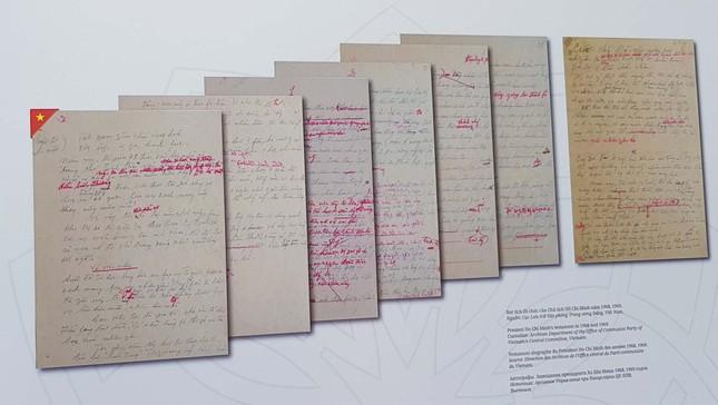 Triển lãm kỷ niệm 50 năm thực hiện Di chúc của Chủ tịch Hồ Chí Minh ảnh 7