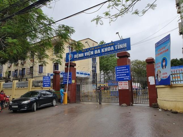 Bắc Giang lắp cổng khử khuẩn chống Covid -19 tại các bệnh viện ảnh 1