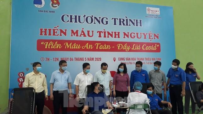 Hơn 500 đoàn viên tỉnh Bắc Ninh tham gia hiến máu ảnh 1