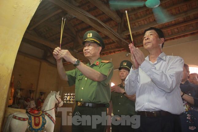 Đại tướng Tô Lâm: Học Bác, siết chặt kỷ cương, phòng ngừa suy thoái trong Công an ảnh 4