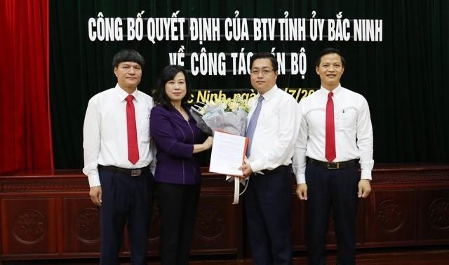 Điều động Bí thư Tỉnh Đoàn Bắc Ninh làm Bí thư Thành ủy Bắc Ninh ảnh 1