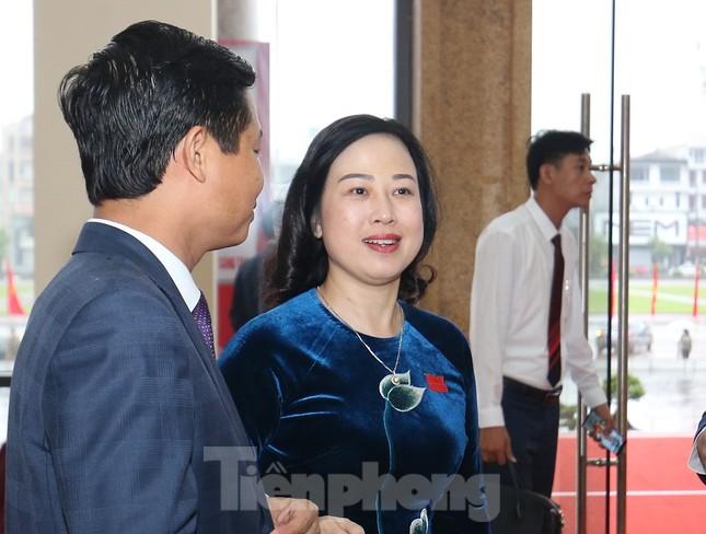 Bí thư Trung ương Đảng Nguyễn Hòa Bình chỉ đạo Đại hội Đảng bộ Bắc Giang ảnh 5
