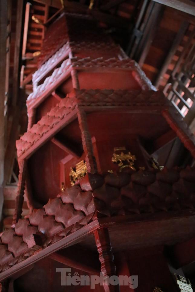 Bảo vật quốc gia Cửu phẩm liên hoa trong ngôi chùa ở Bắc Ninh ảnh 3