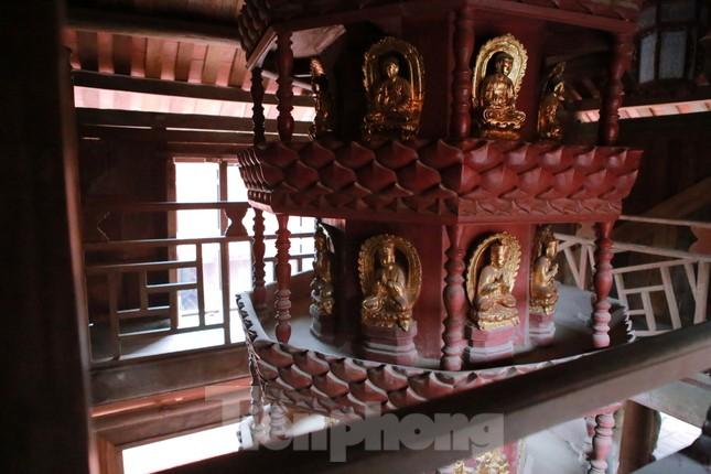 Bảo vật quốc gia Cửu phẩm liên hoa trong ngôi chùa ở Bắc Ninh ảnh 14