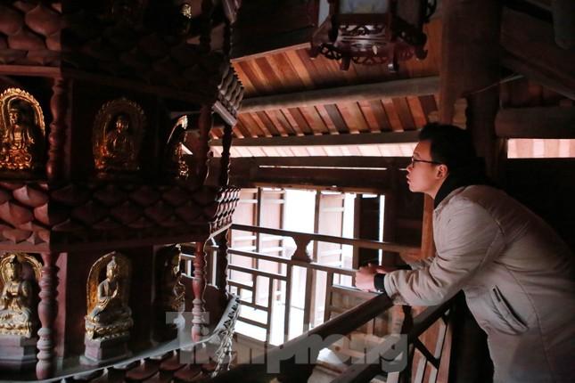 Bảo vật quốc gia Cửu phẩm liên hoa trong ngôi chùa ở Bắc Ninh ảnh 5