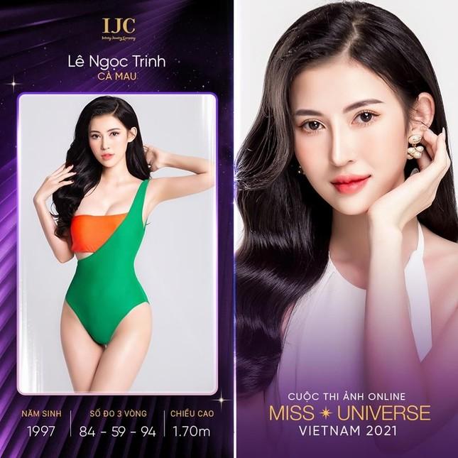 Cuộc thi ảnh online Hoa hậu Hoàn vũ Việt Nam 2021 tung loạt thí sinh có profile đặc biệt ảnh 2