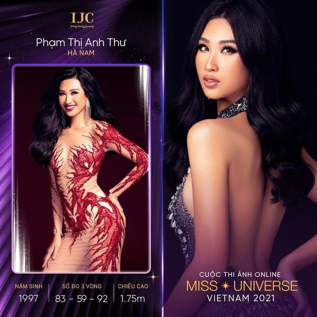 Cuộc thi ảnh online Hoa hậu Hoàn vũ Việt Nam 2021 tung loạt thí sinh có profile đặc biệt ảnh 4